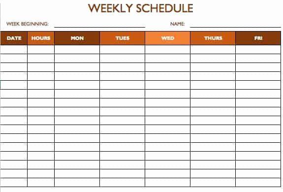 30 Restaurant Work Schedule Template In 2020 Schedule