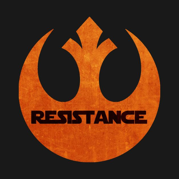 Awesome 'Star+Wars+Resistance+logo' design on TeePublic! - The logo of the Resistance from the star wars episode 7 (SciFi Tshirts)