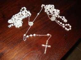 Mexican lasso wedding rosary