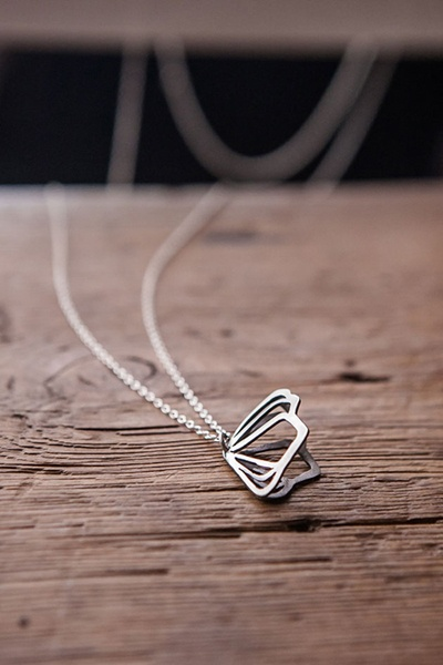 Sterling Silver Pendant, oxidised for extra flair!