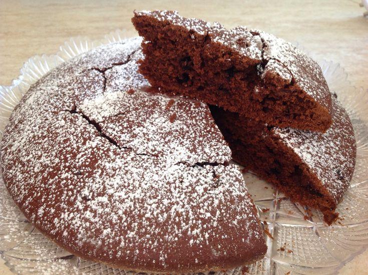 torta speziata di zucca e cioccolato