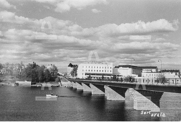 Karjalan silta Sortavalassa. 1930-luku