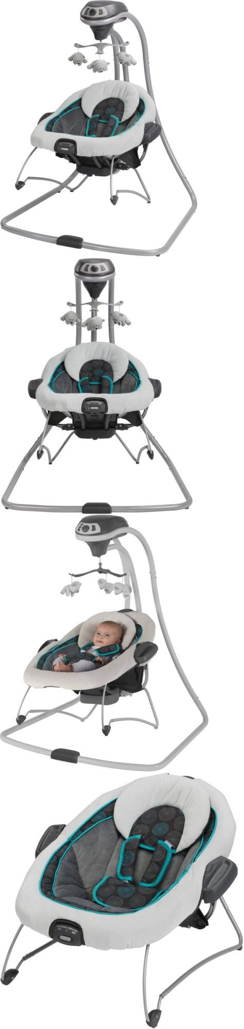 Baby Swings 2990: Graco Duetconnect Swing And Bouncer Bristol Baby Gear Best Selling #1 New Sleep -> BUY IT NOW ONLY: $144 on eBay!