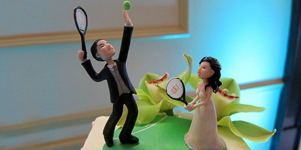 tennis wedding cake topper 17 best images about tennis on roland garros 20798