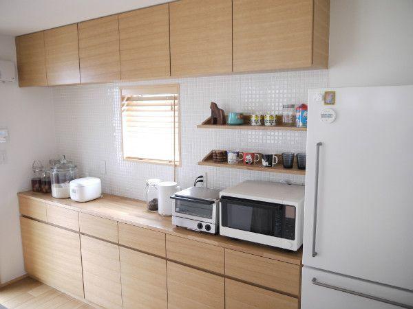 キッチンバックカウンター 無印の家 |エセおしゃれ夫婦の備忘録