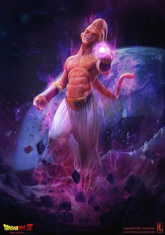 Les plus beaux fan arts 3D de Dragon Ball - Brahim Azizi