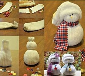Sock Snowman this is will be a great one day project for my adults with disabilities art class