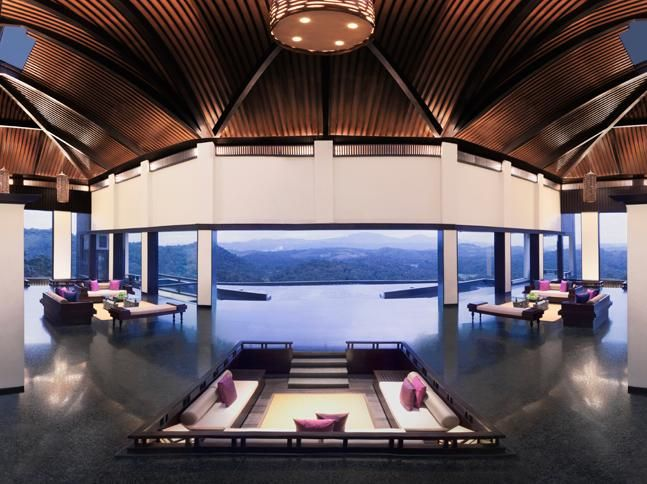 Let the beauty of the rain forest sink in as you take a breather at Vivanta by Taj- Madikeri, Coorg