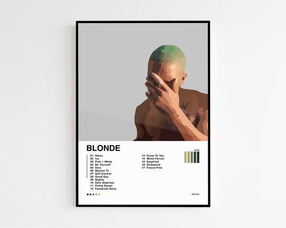 frank ocean blond album tracklist