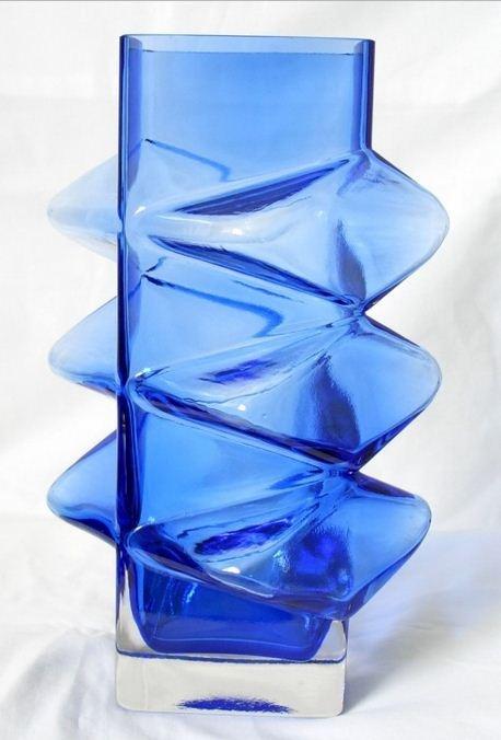 Riihimaki Riihimaen Pablo 60s Scandinavian Vase