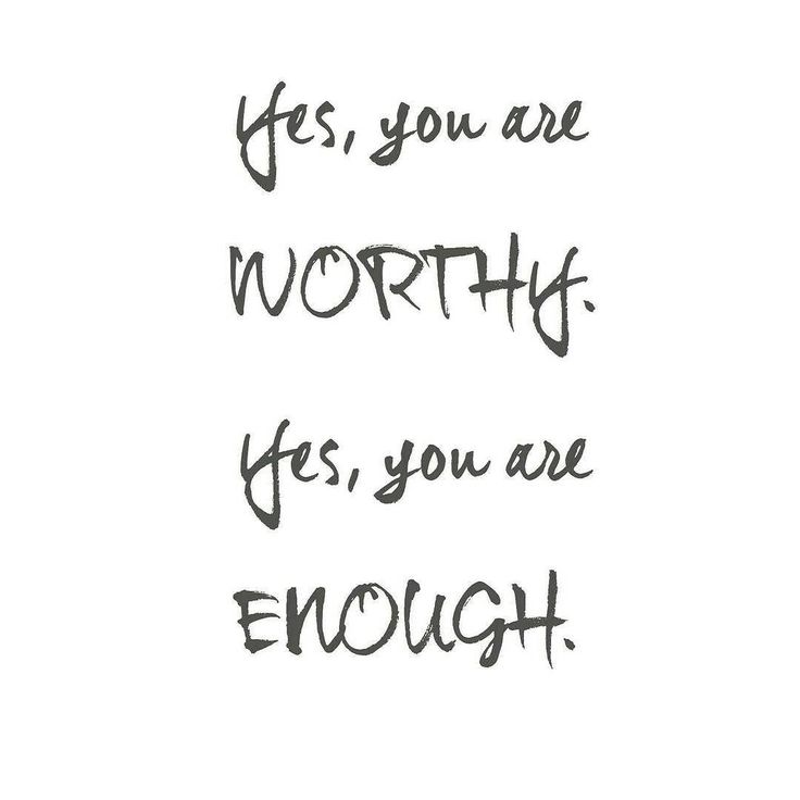 """I just watched an amazing Periscope broadcast and it shook me to the core. """"You are worthy."""" Understanding that I am enough has already changed my life. It has changed how I live everyday including the choices I make about what I put in and on my body. I used to think that living healthy and happy was a luxury but it's not. I used to think health and wellness was only for other people... people who were more worthy and more deserving than I was. Today and everday I remind myself that I am…"""