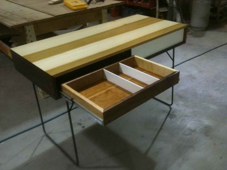 Plexiglass And Wood Desk With Storage ~ Http://monpts.com/awesome