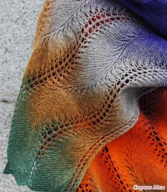 Кажется, что эта схема (найдена в свободном доступе в инете) создана специально для дундаги. В ней прекрасно раскрываются все цвета пасмы и не просто полосками, а плавными волнами.