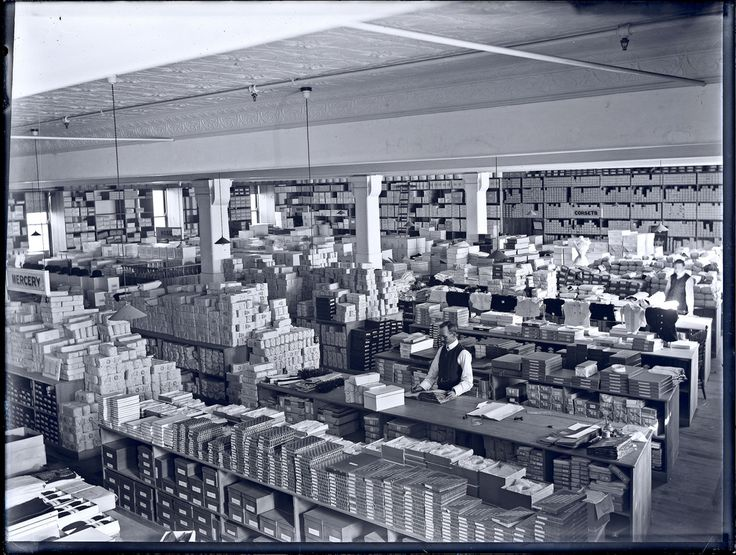 https://flic.kr/p/6c9NtF | Corsets section, Cohen's Building, Scott Street, Newcastle, NSW, May 1909 | Source: livinghistories.newcastle.edu.au/nodes/view/45703  This image was scanned from the original glass negative taken by Ralph Snowball. It is part of the Norm Barney Photographic Collection, held by Cultural Collections at the University of Newcastle, NSW, Australia.   This image can be used for study and personal research purposes.  If you wish to reproduce this image for any other…
