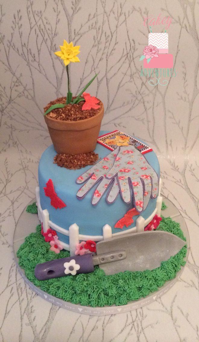 Gardening cake x