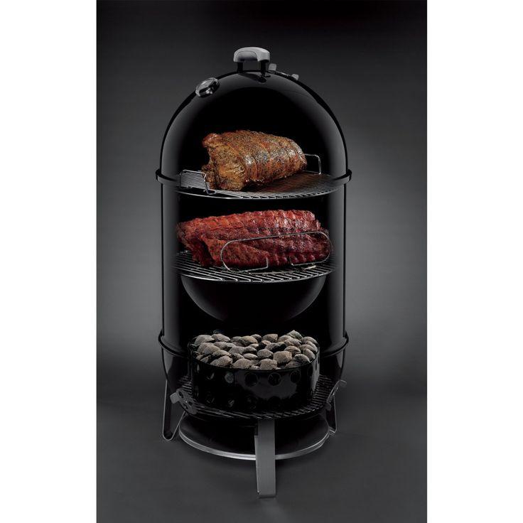 Weber 721001 Smokey Mountain Cooker, Large Capacity Smoker
