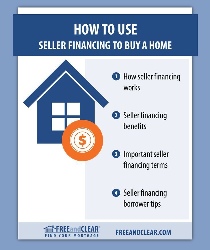 How To Use Seller Financing To Buy A Home With Images Mortgage
