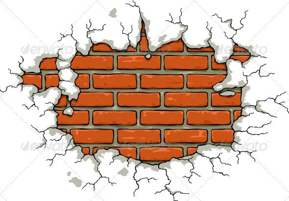 Realistic Graphic DOWNLOAD (.ai, .psd) :: http://vector-graphic.de/pinterest-itmid-1002396749i.html ... Brick Wall ...  background, brick, building, cartoon, cement, crack, crumbled, damaged, destroyed, isolated, plaster, razed, vector, wall, wracked  ... Realistic Photo Graphic Print Obejct Business Web Elements Illustration Design Templates ... DOWNLOAD :: http://vector-graphic.de/pinterest-itmid-1002396749i.html