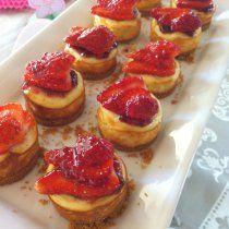 Receta de Mini Cheesecakes