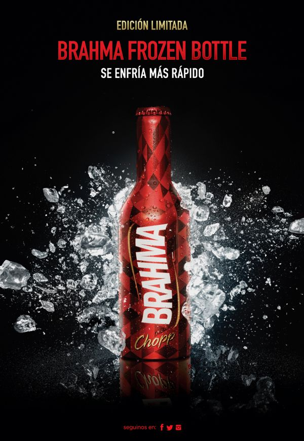 Brahma Aluminio by Leandro Vila, via Behance