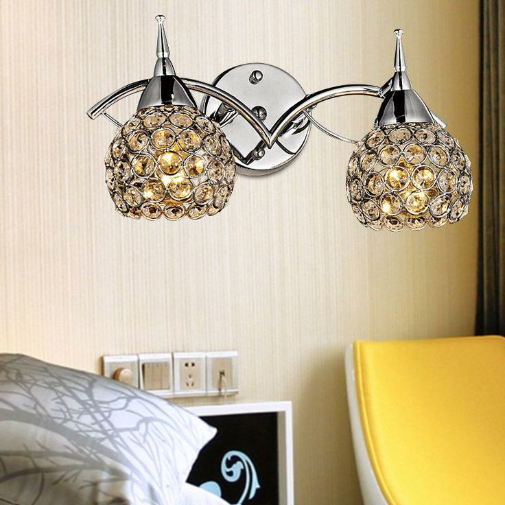 Cheap Wall Lamps - Best Minimalist Modern K9 Crystal Wall Stud Creative Arts Online with $105.3/Piece | DHgate