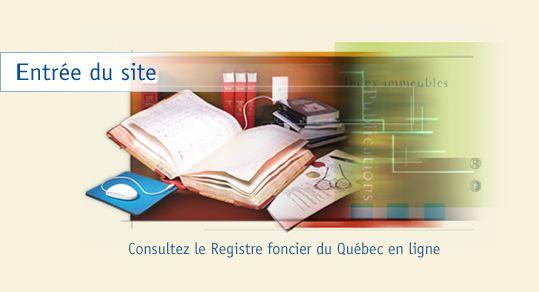 Registre foncier du Québec en ligne