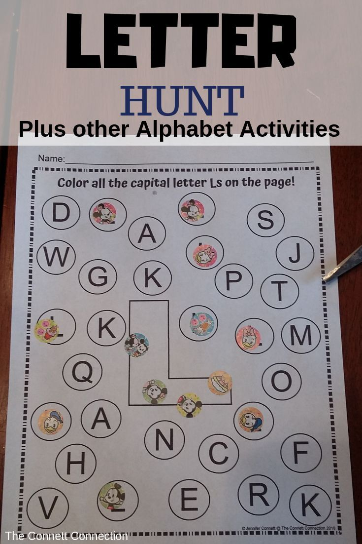 Letter L Activity and Center Packet | K - 3rd Teachers and Education ...