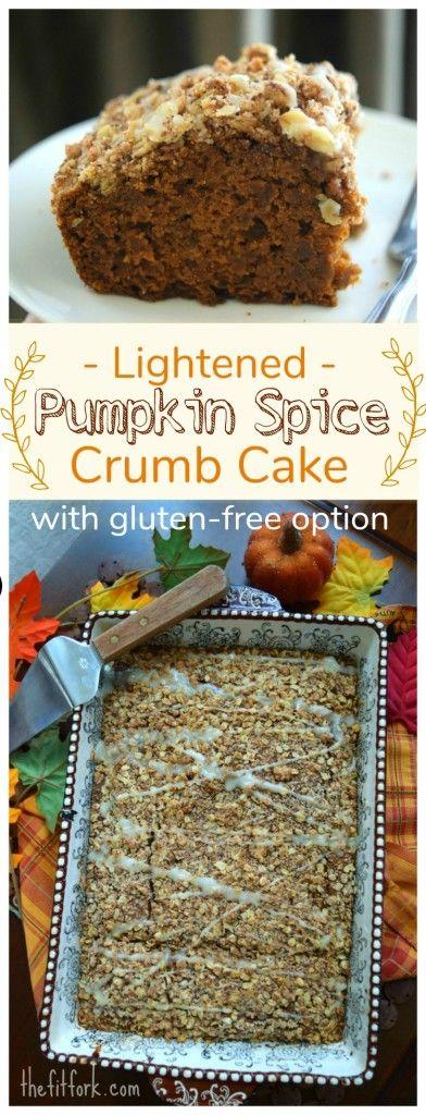 Lightened Pumpkin Spice Crumb Cake gf pin