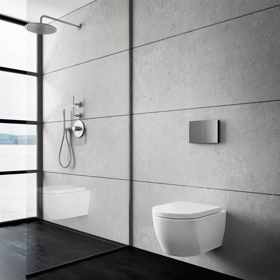 Bathroom by Pulcher Design | http://www.badstil.dk/shop/pulcher-upgrade-white-8603p.html  | http://www.badstil.dk/shop/semplice-comp-622rw101-8468p.html