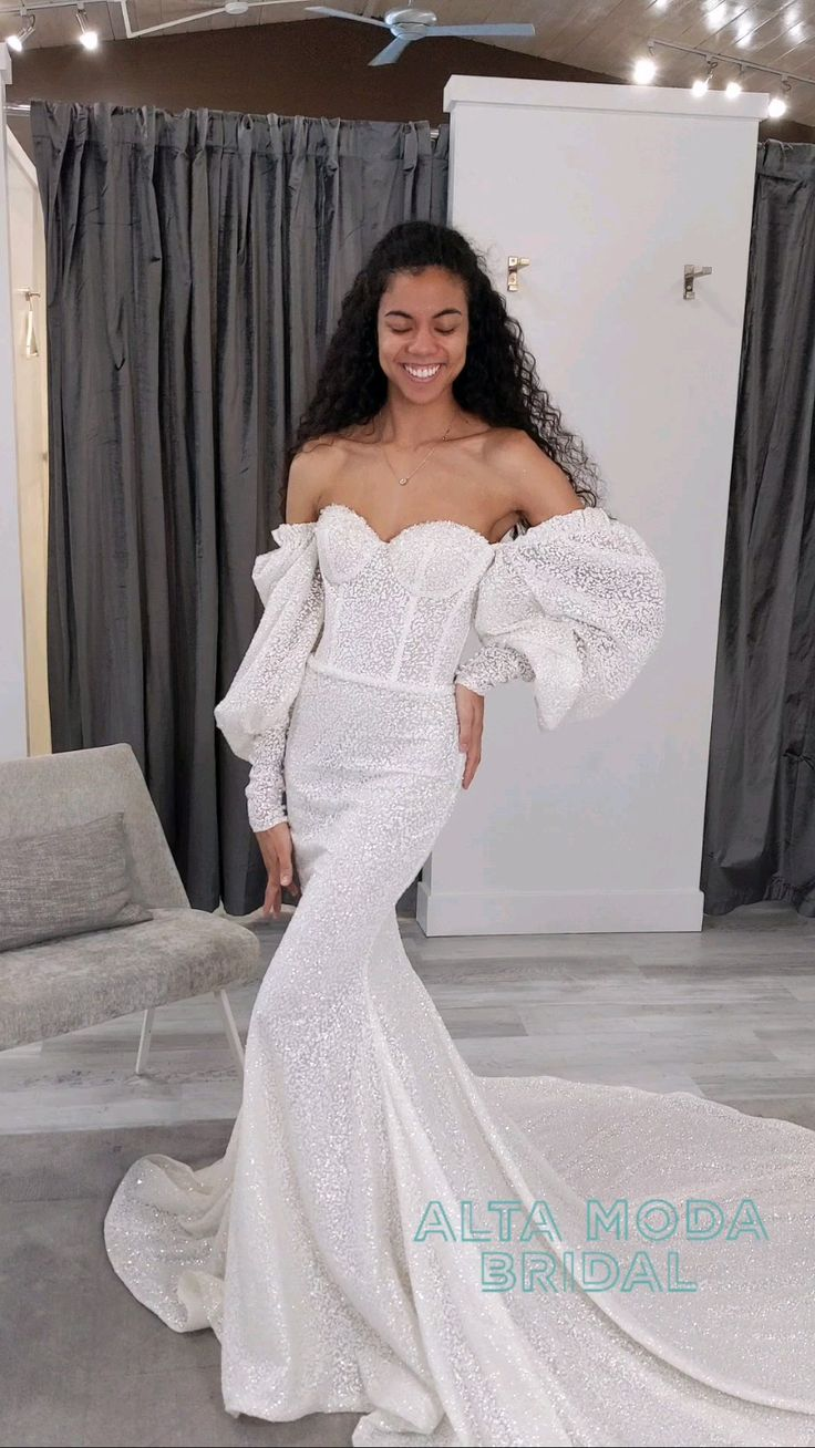 Alta Moda Bridal, Wedding Stuff, Wedding Ideas, Bridal Gowns, Wedding Dresses, Brides, White Dress, Weddings, Chic