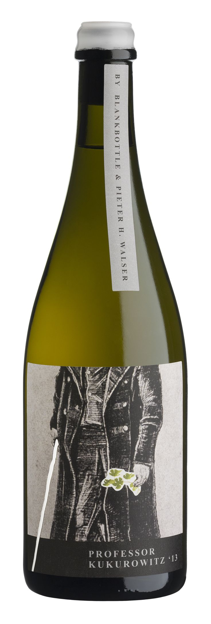 BLANKbottle Wines - Professor KUKUROWITZ 2013 #wine #packaging #SouthAfrica