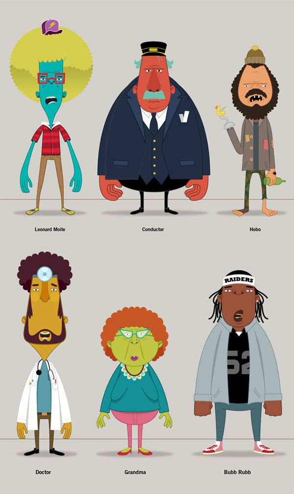 Character Design On Illustrator : Amazing character illustrations by christopher lee