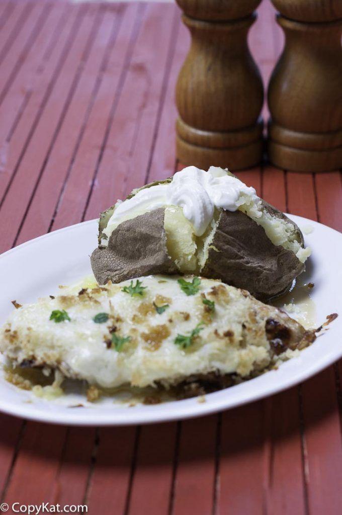 Longhorn Steakhouse Parmesan Crusted Chicken - Copycat Recipe