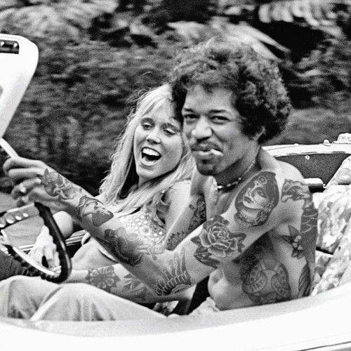 JIMI / a beautiful moment in time caught on a photo..... rip jimi ♥