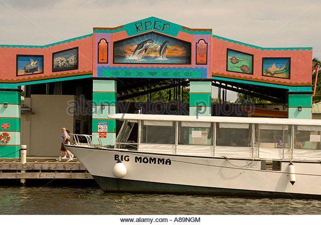 Belize City Belize Tourism Village cruise shops - Stock Image