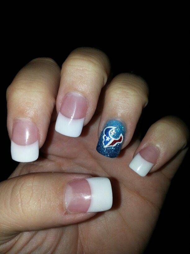 Houston Texans nails!!!