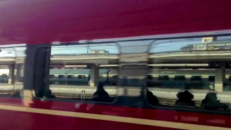 Stazione di Padova Italy - Italo Treno 2013 - HD -