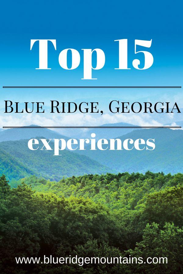 Adventure in Georgia's Blue Ridge! #blueridgega