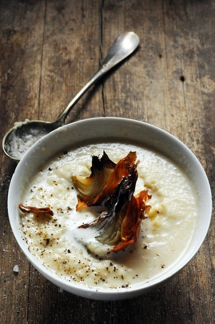 Parsnip and salsify soup