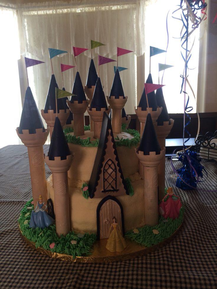 Kim's castle cake