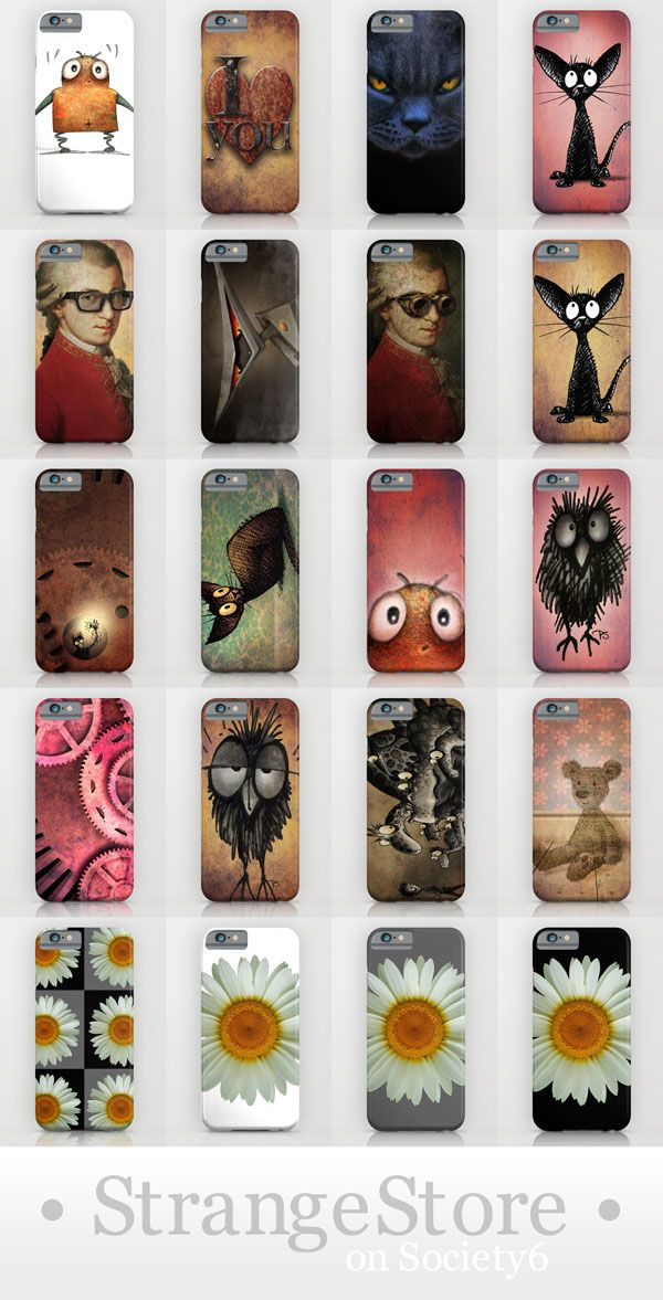 Paul Stickland #StrangeStore Funny iPhone 6 cases