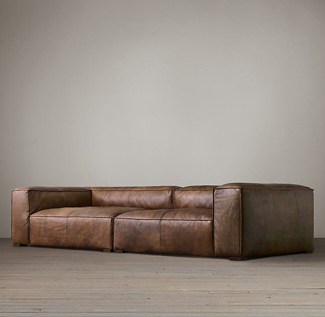 fulham leather daybed - Leather Daybed