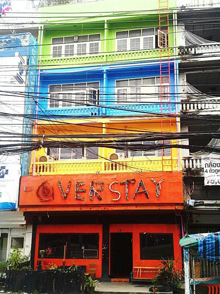 The overstay hostel, Bangkok