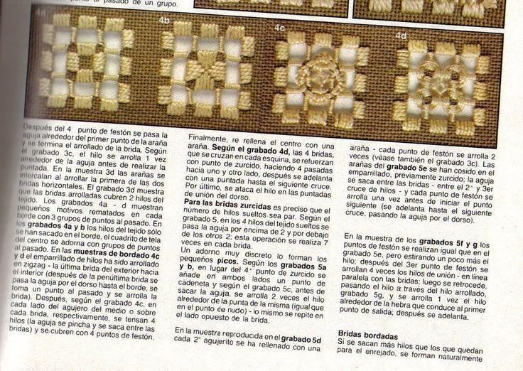 Bordado hardanger   Aprender manualidades es facilisimo.com