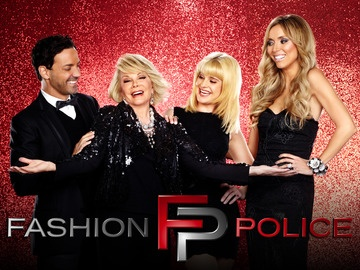 Fashion Police. So sad to hear the news about Joan Rivers...love this show, she made me laugh..