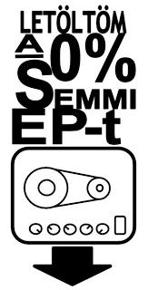 'I'd like to download 0% Semmi'  The download button's style was inspired by the old style Copycat tape delay Burkus König is using to gain a distinct piano sound.