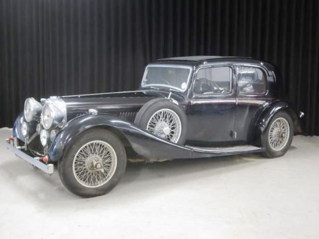 1935 Alvis 3½-Litre Speed Twenty SD Sports Saloon