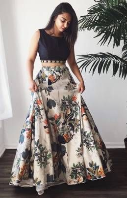 Kapadewala White Multocolour (Crepe Lehenga With Bangalore Silk Choli) Semi stitched Free Size XXL Lehenga Choli For Women