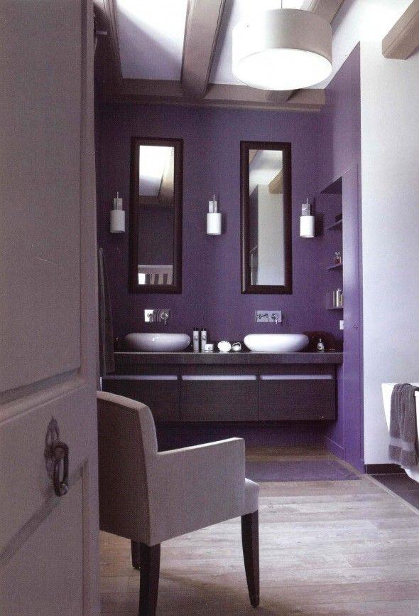 Bathroom Decor In Purple : Ideas about purple bathrooms on