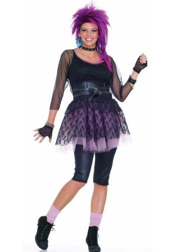 80s funky pop star adult costume rock star costumes 80s pop rock - 80s Rocker Halloween Costume